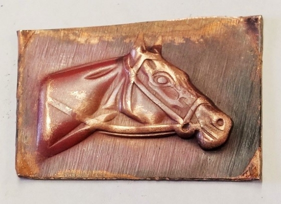 Picture of Impression Die Horse Head