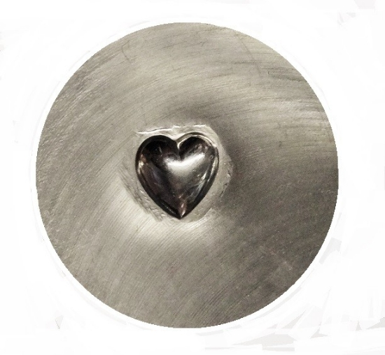 Picture of **Missing** Impression Die Smooth Heart