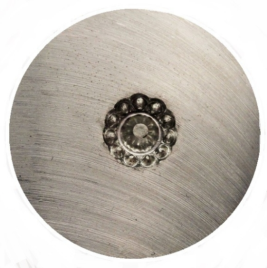 Picture of Shot Plate Dotted Flower