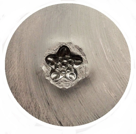 Picture of Shot Plate Jeweled Flower