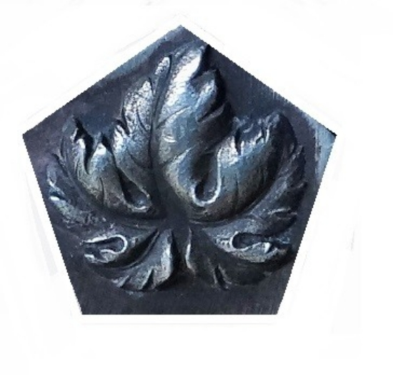 Picture of Fig Leaf Silver Stamping