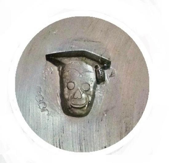 Picture of Impression Die Grad Skull