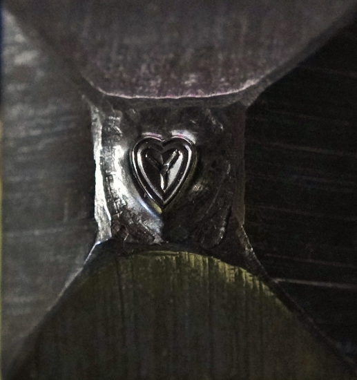 Picture of Shot Plate Little Heart