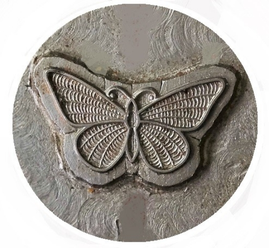 Picture of Impression Die Enamel Butterfly