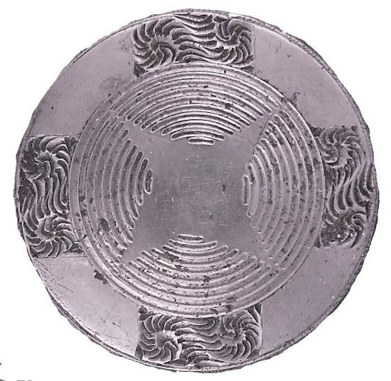 Picture of Impression Die Round Zen Geometric