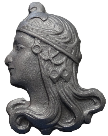 Picture of Impression Die Art Nouveau Lady Small