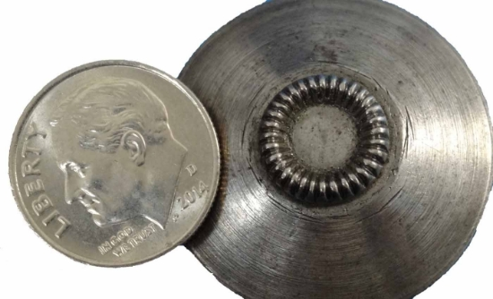 Picture of Shot Plate Ridged Circle