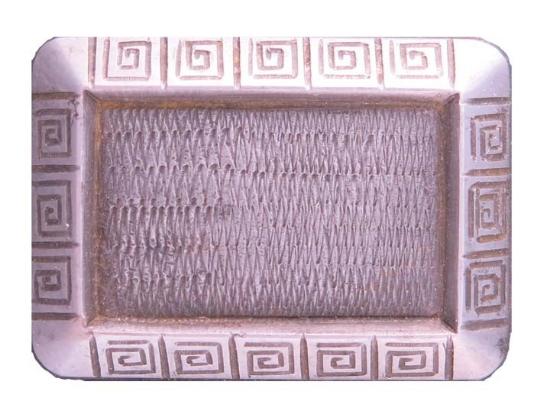 Picture of Impression Die Rectangular Spiral Bezel