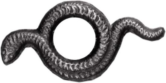 Picture of Impression Die Mini Coiled Serpent