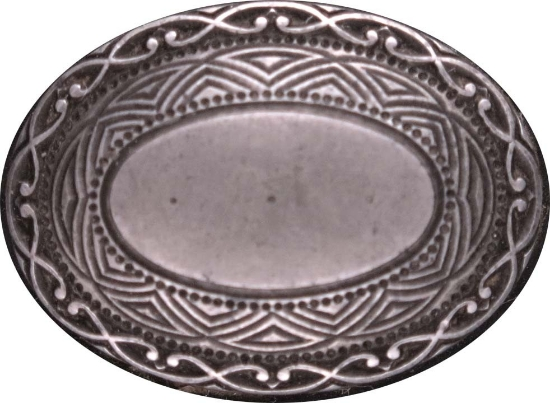 Picture of Impression Die Etched Oval