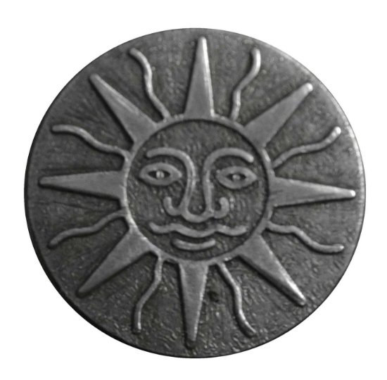 Picture of Impression Die Sun Face 1""