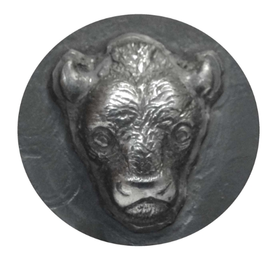 Picture of Impression Die Bison Head