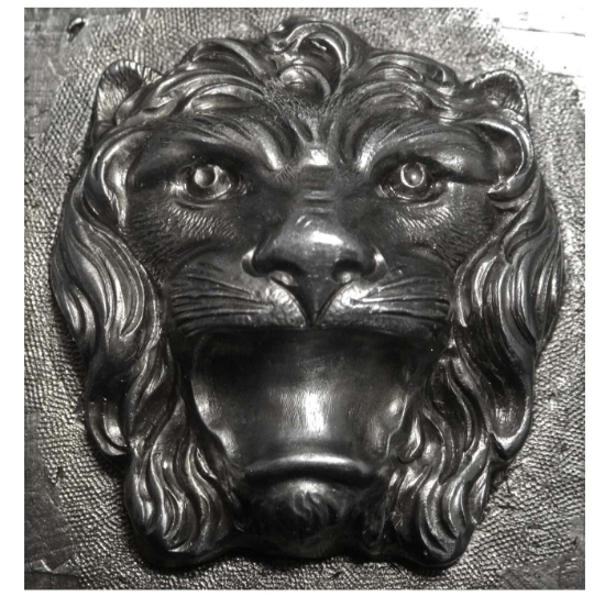 Picture of Impression Die Furry Lion Head