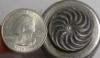 Picture of Impression Die Peppermint Swirl