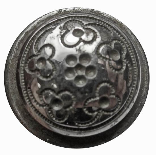 Picture of Impression Die Minimalist Flower Button