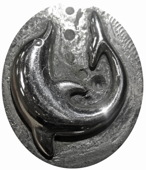 Picture of Impression Die Danny the Dolphin Earring