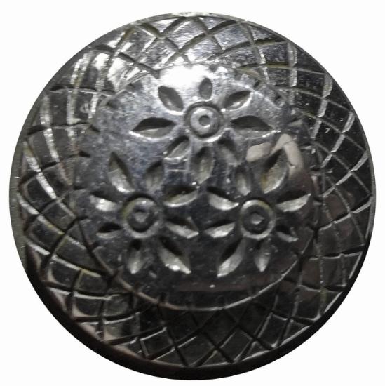 Picture of Impression Die Minimalist Three Flower Button