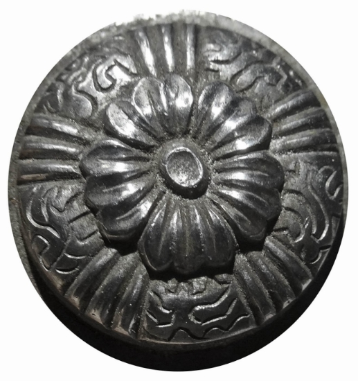 Picture of Impression Die Central Bordered Flower Button
