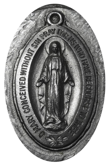Picture of Impression Die Mary Pendant