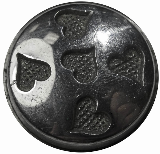 Picture of Impression Die Five Heart Button