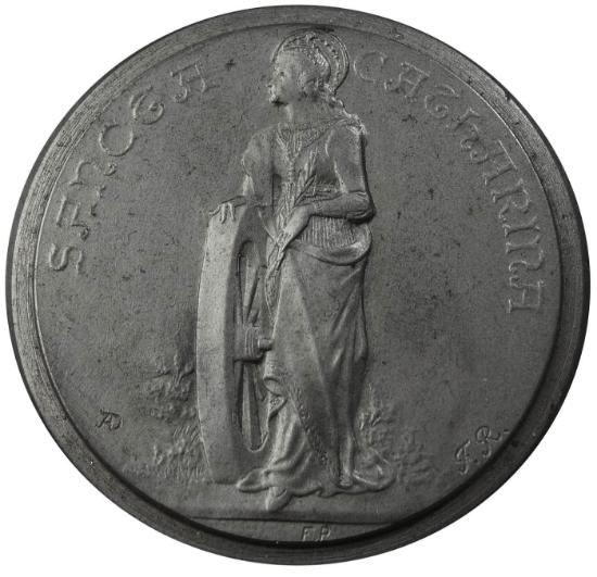 Picture of Impression Die Saint Catherine Medallion