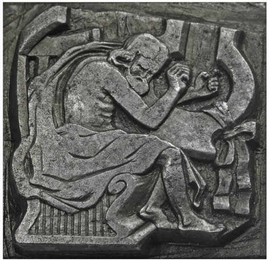 Picture of Impression Die Apollo and his Harp