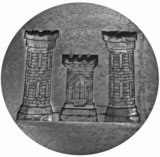 Picture of Silver Stamping Castle Tower