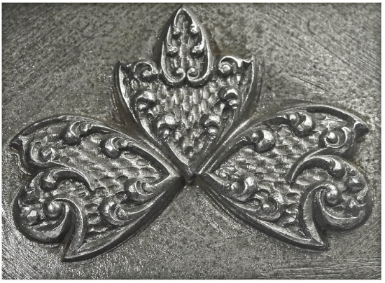 Picture of Impression Die Flourished Arrows