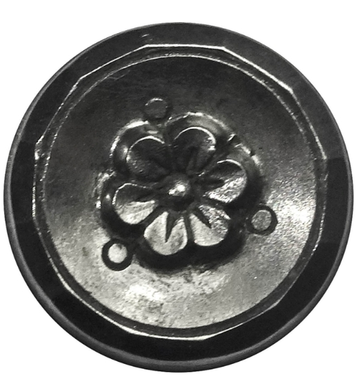 Picture of Impression Die Trymetrical Flower Button