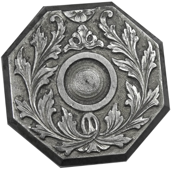 Picture of Impression Die Octogon Wreath Bezel