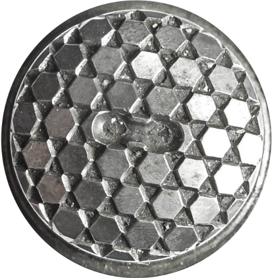 Picture of Impression Die Hexagonal Chain Button