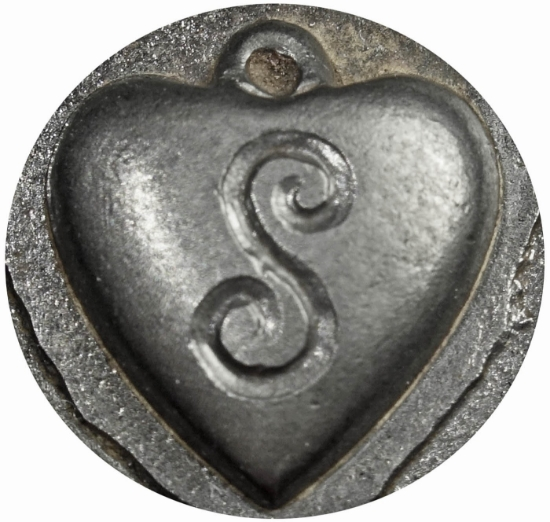 Picture of Impression Die NC Heart Locket 'S'