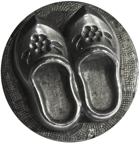 Picture of Impression Die Floral Clogs