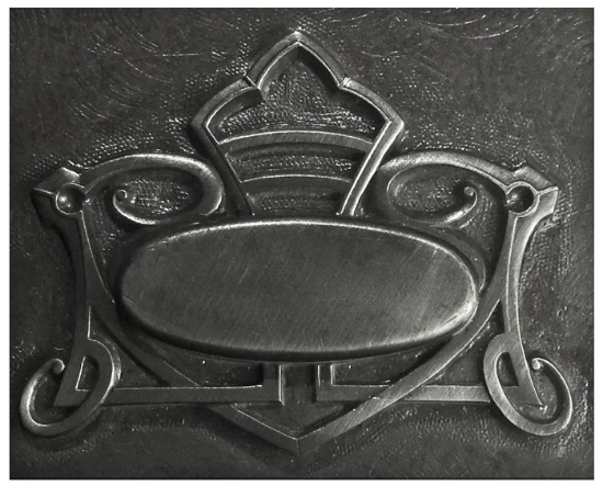 Picture of Impression Die Art Nouveau Plaque