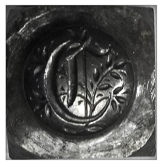 Picture of Impression Die Gothic 'C'