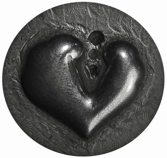 Picture of Impression Die Pierced Heart
