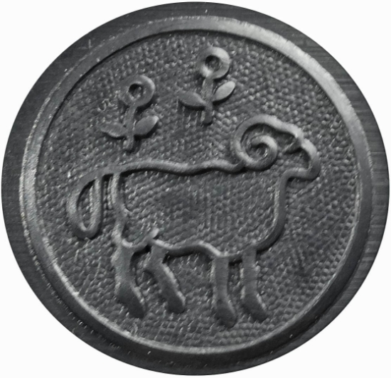 Picture of Impression Die Minimalist Capricorn