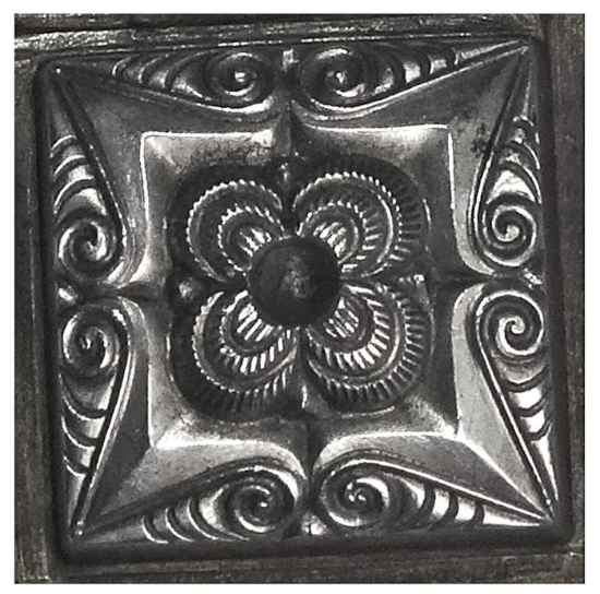 Picture of Impression Die Floral Plinth Block
