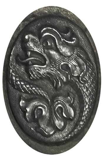 Picture of Impression Die Map Dragon Button