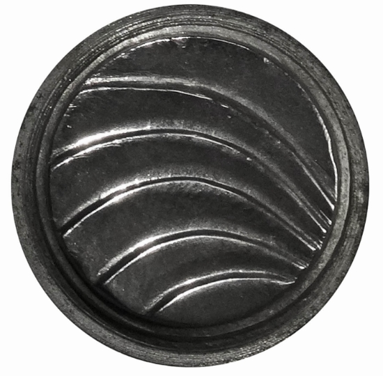 Picture of Impression Die Folded Waves Button