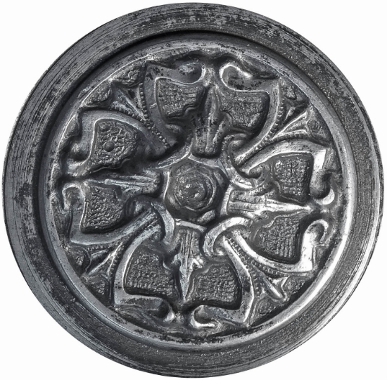 Picture of Impression Die Victorian Buckle Amulet