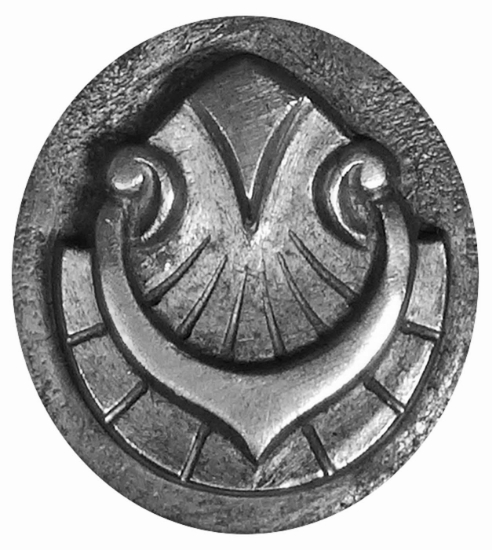 Picture of Impression Die Scallop Knight's Amulet