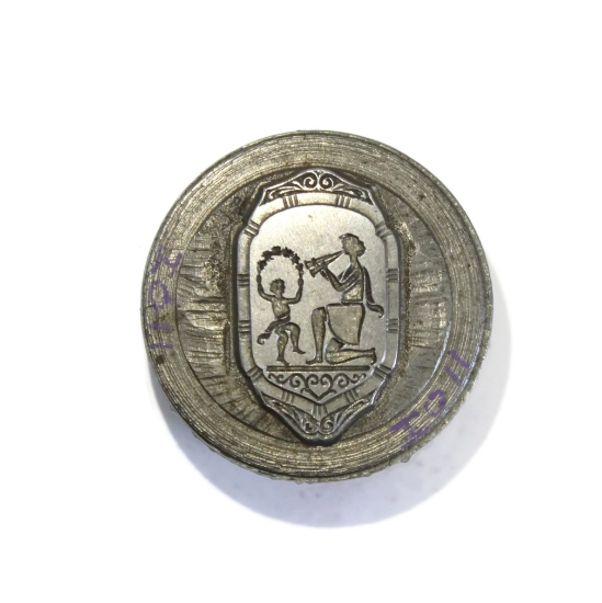 Picture of Impression Die Roman Badge