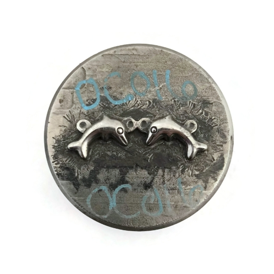Picture of Impression Die Best Friend Dolphin Charm
