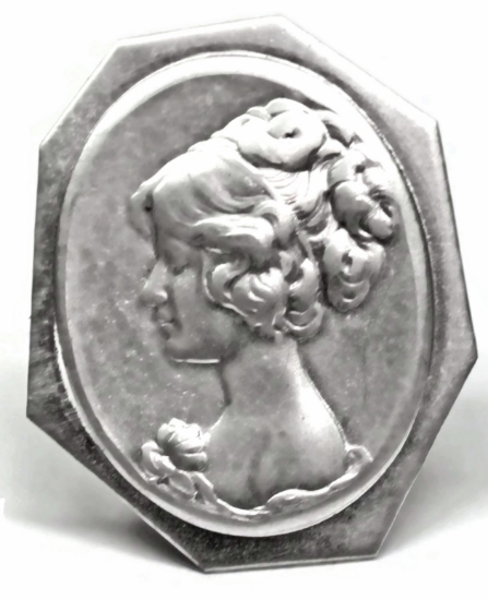Picture of Girl Cameo Stamping
