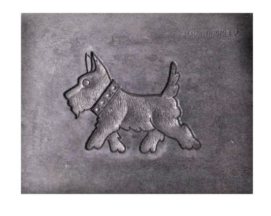 Picture of Terrier Silver Stamping