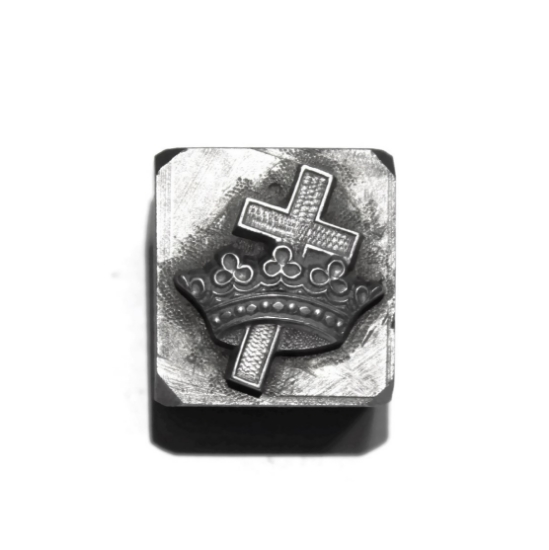 Picture of *Broken* Impression Die Cross and Crown