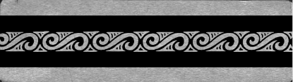 Picture of Bracelet Pattern Plate 1 (RMP031)