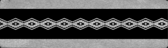 Picture of Bracelet Pattern Plate 3 (RMP033)