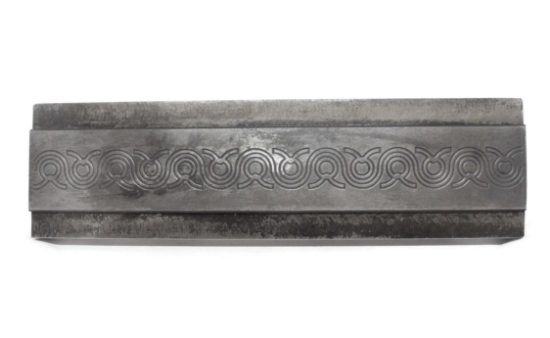 Picture of Circular Braids Pattern Plate RMP040